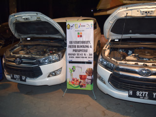 Uji Prespitasi dan Start Ability Road Test B30