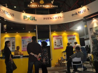 Badan Litbang ESDM mengikuti Pameran ConBuild Mining and Renewables Indonesia 2012