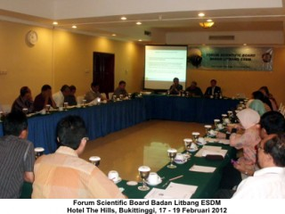 Forum Scientific Board Badan Litbang ESDM